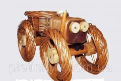 Цветочник трактор (маленький рармер, длина 34см)