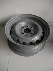Диск колесный ВАЗ 2103, АвтоВАЗ (13Н2х5.0J 4x98 58.6 ET29) серый