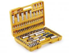 Набор инструментов СИЛА (251308) Стандарт/45Т/трещетка ¼, ½ + 108 насадок