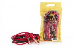 Крокодилы+провода для прикуривания АКБ (200А) СИЛА (900302) 2,5м