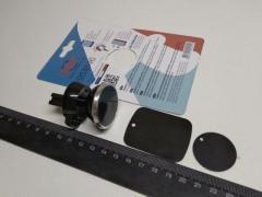 Держатель телефона на дефлектор, 12 Atelie (951846) магнитный/круг