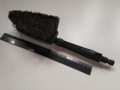 Щетка для мытья машины TOM-PAR (TP 090011) N коннектор/под шланг/натуральний ворс