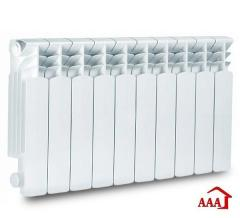 Bimetallic radiator of AAA