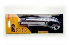 Нож СИЛА (400228) металлический/обрезиненный/винтовой замок