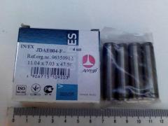 Втулка направляющая клапана Lanos 1.5, AMP (JDAE004-G-S-0) к-т 4 ш.
