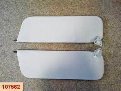 Козырьки ВАЗ 2106 (белые) пара