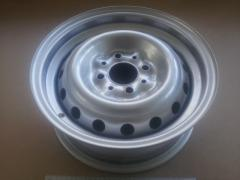 Диск колесный ВАЗ 2103, АвтоВАЗ (13Н2х5.0J 4x98 58.6 ET29) серебро/металик