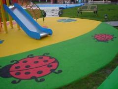 Покрытие для детской площадки Сендвич-Гумибо 10+5