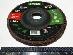 Круг лепестково-торцевой Р100 конус 125 мм (Т29)