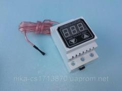 Цифровой 2-х пороговый терморегулятор с...