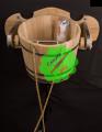 The bucket falls is oak
