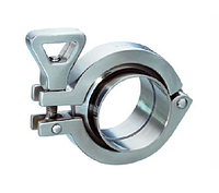 Connection Klamp Clamp, AISI 316L steel the