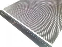 Сетка декоративная метал. 100x30 см черная №1 SAHLER 1 шт.