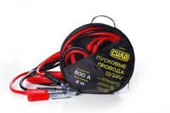 Крокодилы+провода для прикуривания АКБ (800А) СИЛА (900311) 4м/в сумке