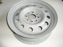 Диск колесный ВАЗ 2110, Кременчуг (14H2x5,0J) серый