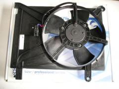Диффузор кондиционера Lanos с мотором, Лузар (LFc 0563)