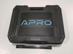 Набор инструментов APRO (251450) 90Т/3 трещетки ¼,/⅜/½+ 150 насадок