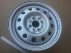 Диск колесный ВАЗ 2110, АвтоВАЗ (14Н2х5.0J 4x98 58.6 ET35) серебро/металлик