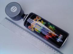 Краска Deco Blik (RAL 9006) Белый алюминий (450мл)