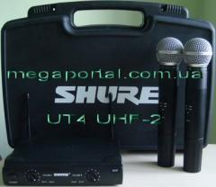 Shure UT4 UHF-2 radio system 2 of the shure