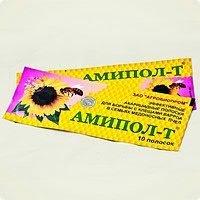 Амипол-Т (амитраз,  тимол) 10 полосок-1уп....