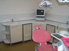 Utstyr for tannlege kabinett