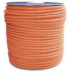 Верёвка нетонущая,  12мм,  100м,  оранжевая...