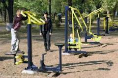 Комплексы и площадки спортивные антивандальные