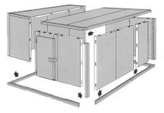 Refrigerators for storage of vegetables and frui