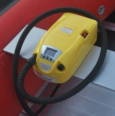 Pumps for inflatable boats