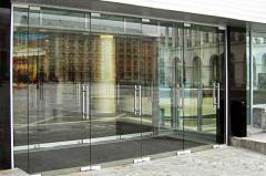 Entrance group glass, doors glass entrance,