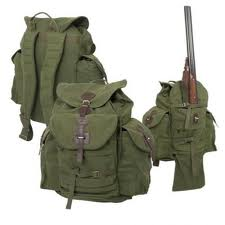 Backpacks are hunting