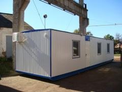 Жилой дом 3м х11мм + офис