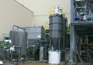 Water treatment for production of steam and energy