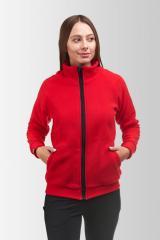 Флисовая кофта Женская S, Красная