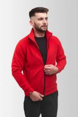 Флисовая кофта Мужская 260 Красная XL