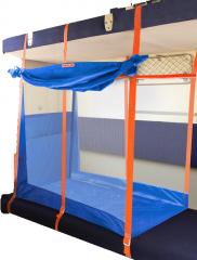 Детский железнодорожный манеж на 3 стенки (ЖД манеж)