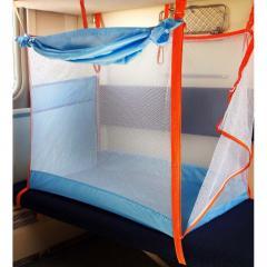 Детский железнодорожный манеж на 4 стенки (ЖД манеж)
