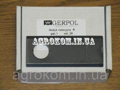 Ніж косарки роторної «GERPOL» 96 * 40 * 3