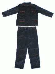 Overalls (suits, overalls, dressing gowns, vests,