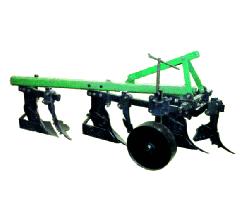 Plow three-case hinged with a predpluzhnik of