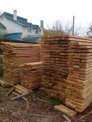Beams wooden