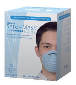 Masks are protective. SAFE+MASK® Cone masks