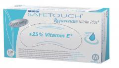Gloves are nitrile. Nitrile SafeTouch® Rejuvenate