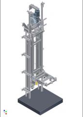 Elevators without machine room with limited