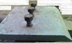 Segments are interdental, Volvo L220 loader ladle