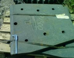 Plate anchor crushers of Sandvik JM 1108