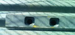 Level clamping Sandvik JM1108 crushers