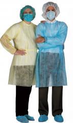Халаты медицинские. Изоляционные халаты