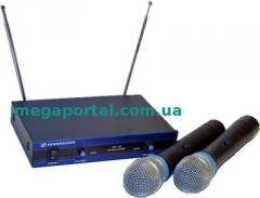 Sennheiser EW-100 two-channel radio system, 2